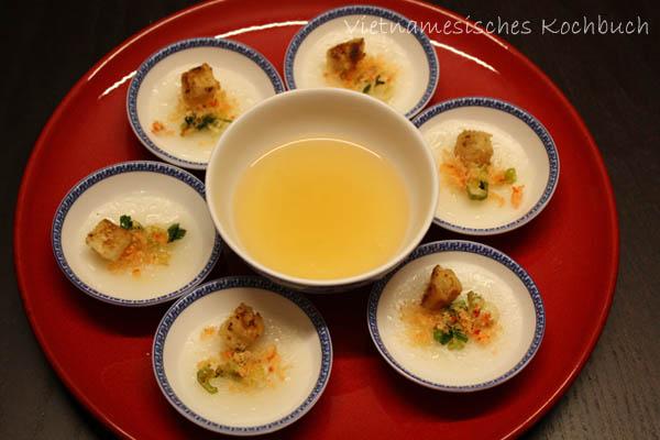Bánh bèo Huế - Gedämpfte Mini-Reisküchlein aus Huế